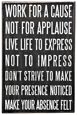 WORK FOR CAUSE 