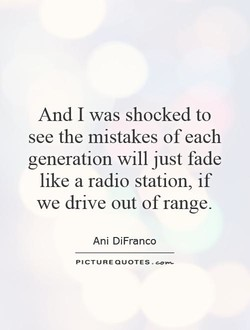And I was shocked to 