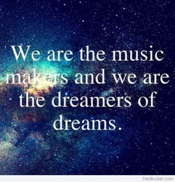 We are the music 