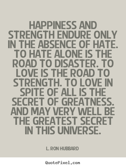 HAPPINESS AND 