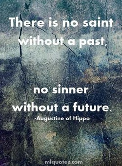 T ere is po suints 
