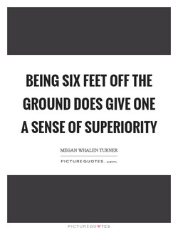 BEING FEET OFF THE 
