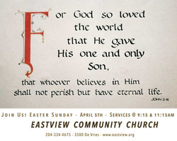 or God so loved 
