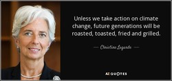 Unless we take action on climate 