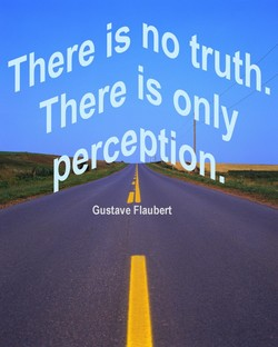 There is eno truth 