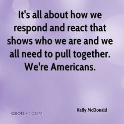 It's all about how we 