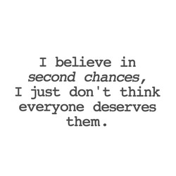 I believe in 