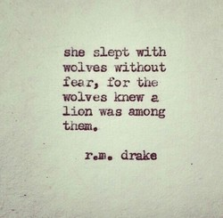 she slept with 