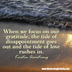 When we focus on our 
