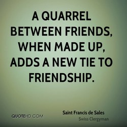 A QUARREL 