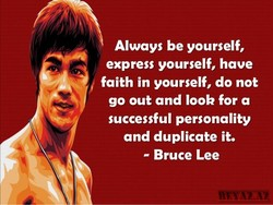 Always be yourself, 