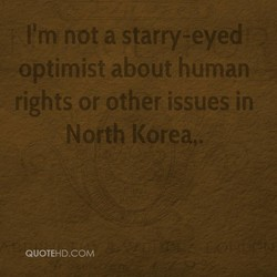 11m not a starry-eyed 