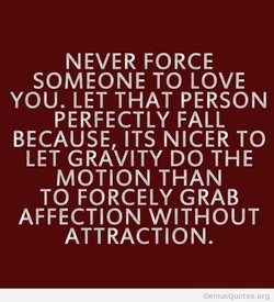 NEVER FORCE 