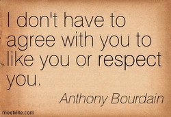 I donlt have to 
