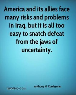 America and its allies face 