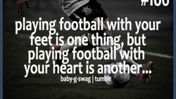 playing footbalWth 