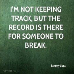 NOT KEEPING 
