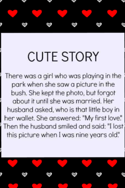 CUTE STORY 