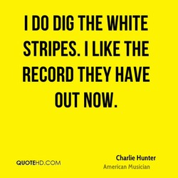 I DO DIG THE WHITE 