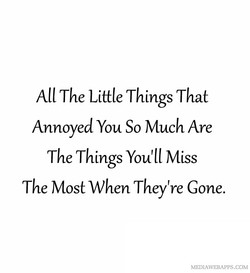 All The Little Things That 