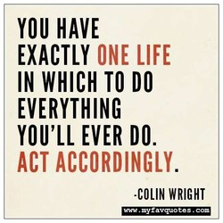 YOU HAVE 