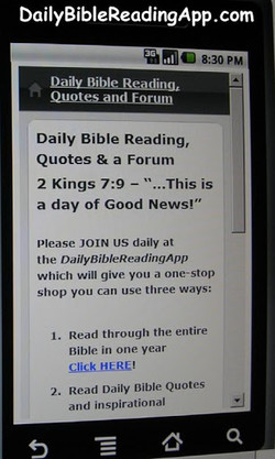 DailyBibIeReadingApp.com 