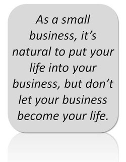 As a small 