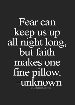 Fear can 