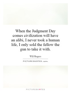 When the Judgment Day 