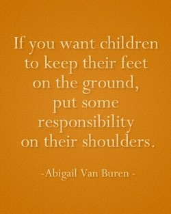 If you want children 