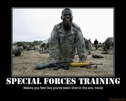 SPECIAL FORCES 'I'RAINING 