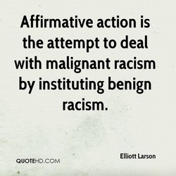 Affirmative action is 