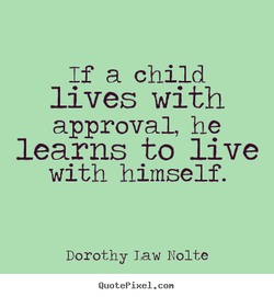 If a child 