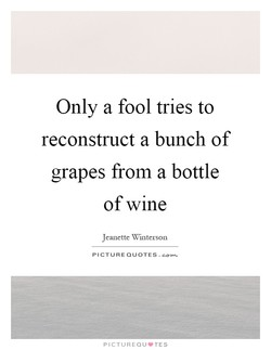 Only a fool tries to 