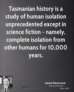 Tasmanian history is a 