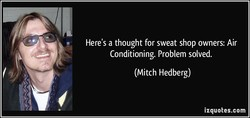 Here's a thought for sweat shop owners: Air 