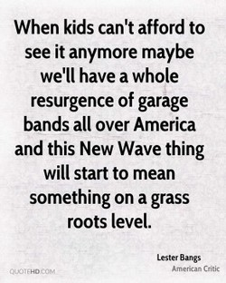 When kids can't afford to 
