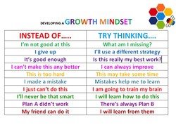 GROWTH MINDSET O 