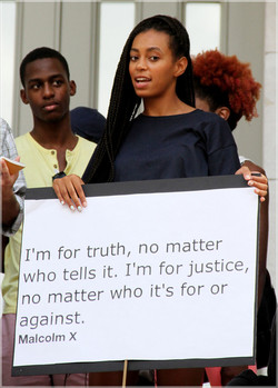 I'm for truth, no matter 