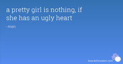 a pretty girl is nothing, if 