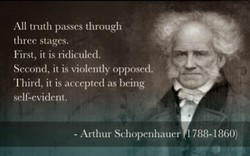 All truth passes through 