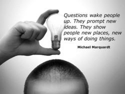 Questions wake people 
