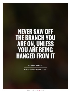 NEVER SAW OFF 
