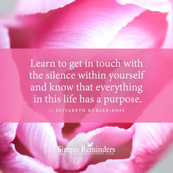 Learn to get in touch with 