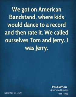 We got on American 