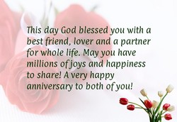 This day God blessed you with a 