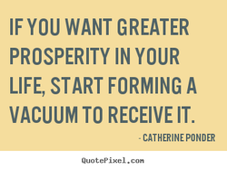 IF YOU WANT GREATER 
