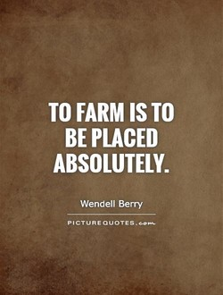 TO FARM TO 