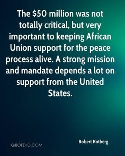 The $50 million was not 