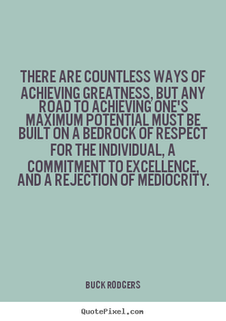 THERE COUNTLESS WAYS OF 